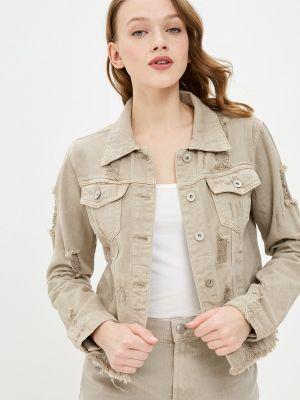 Джинсовая куртка - бежевая B.style