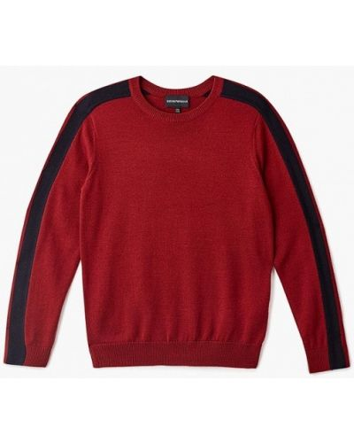 Красный свитер Emporio Armani