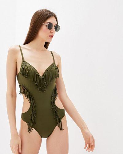 Купальник зеленый хаки Faba