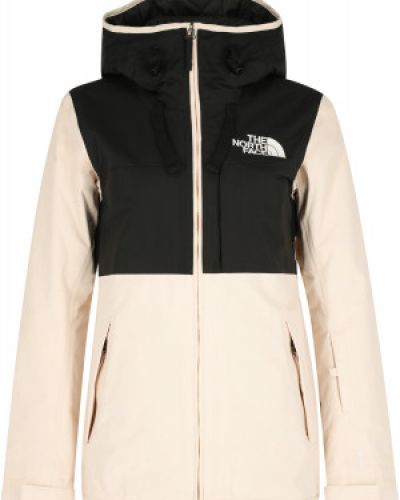Куртка горнолыжная с капюшоном - черная The North Face