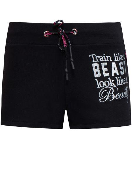 Спортивные шорты черные Plein Sport
