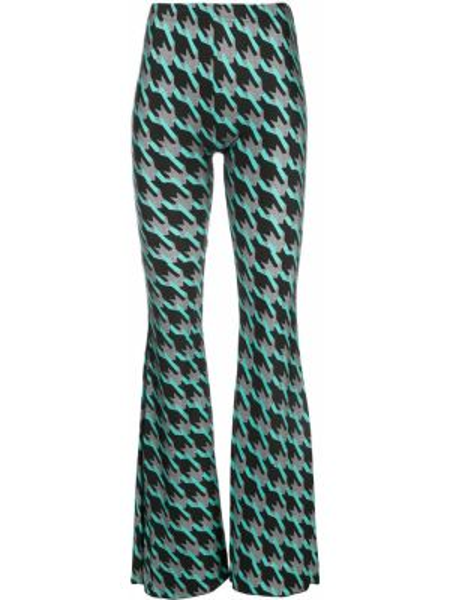 Расклешенные брюки с воротником с поясом Barbara Bologna
