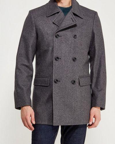 Пальто серое Bazioni