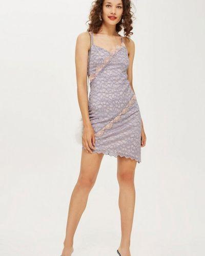 Платье платье-комбинация осеннее Topshop