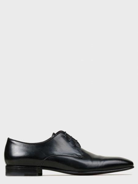 Кожаные туфли - черные Corneliani