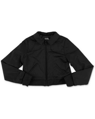 Czarna kurtka Karl Lagerfeld