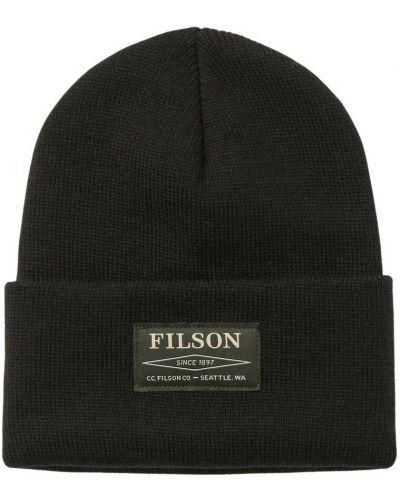 Czarna czapka Filson