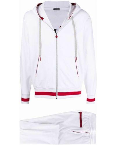 Biały garnitur Kiton