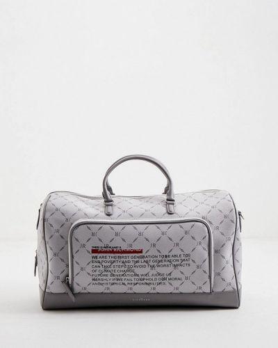 Серая дорожная сумка John Richmond