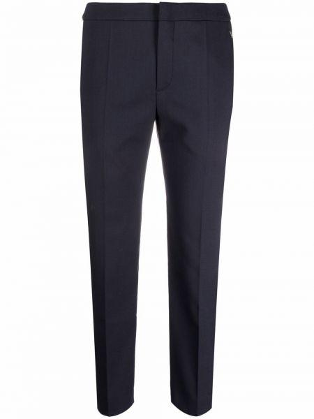 Укороченные брюки - синие Chloé