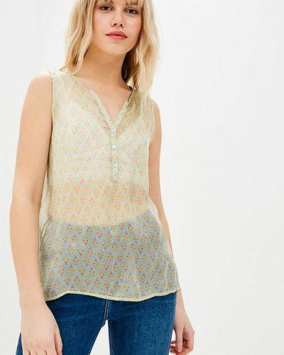 Блузка без рукавов зеленый Sack's