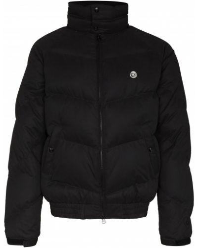 Клубная черная пуховая длинная куртка Billionaire Boys Club