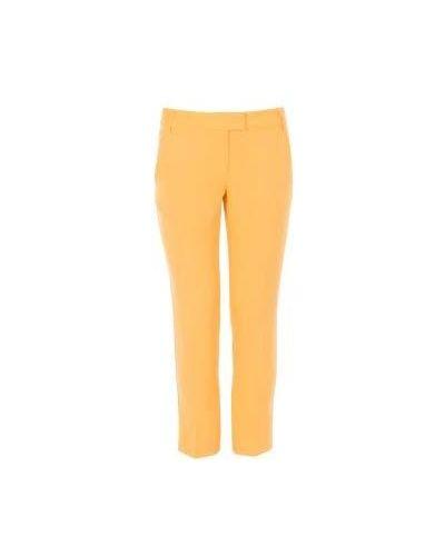 Желтые летние брюки Moschino Cheapandchic