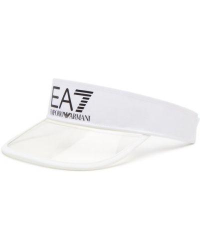 Biały daszek Ea7 Emporio Armani