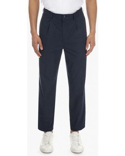 Синие брюки повседневные Burton Menswear London