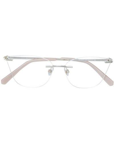 Очки кошачий глаз бежевые Swarovski Eyewear