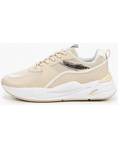 Кожаные бежевые туфли Ideal Shoes®