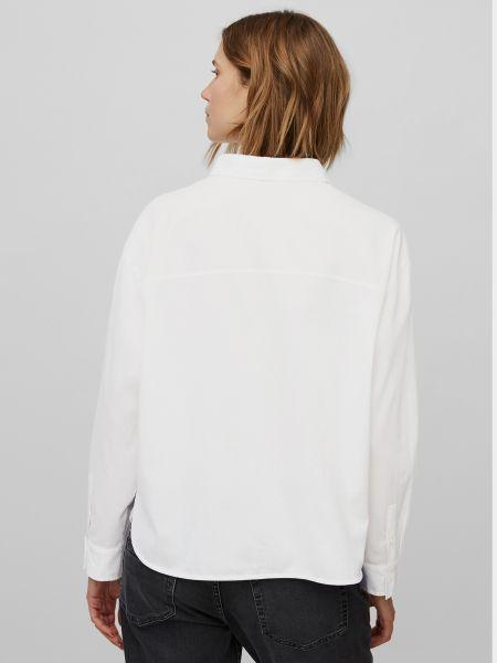 Белая блузка с длинными рукавами Marc O'polo