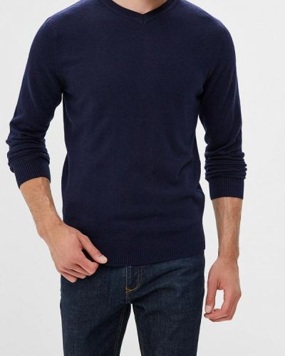 Синий пуловер Sela