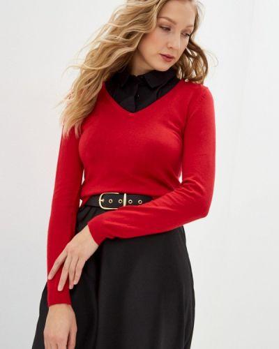 Красный пуловер William De Faye