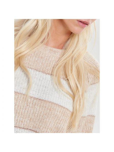 Пуловер с рукавом реглан в полоску Only