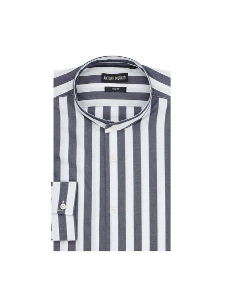 Koszula z długim rękawem w paski na paskach Antony Morato