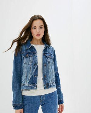 Джинсовая куртка осенняя синий Free People