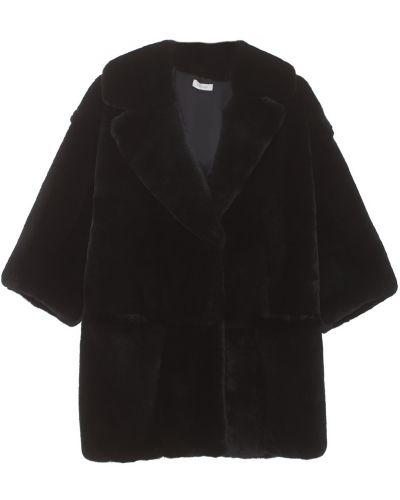 Пальто с рукавом 3/4 прямое из кролика Marusya