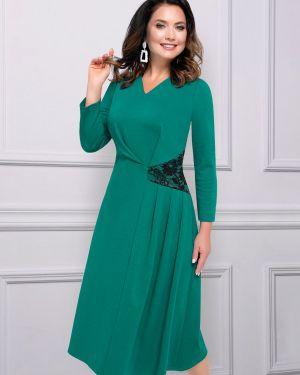Вечернее платье со вставками с V-образным вырезом Charutti