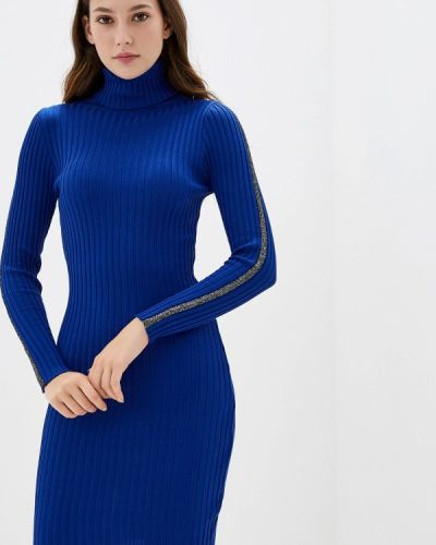 Платье - синее Liana