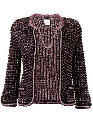 Ватная розовая куртка с подкладкой Chanel Pre-owned