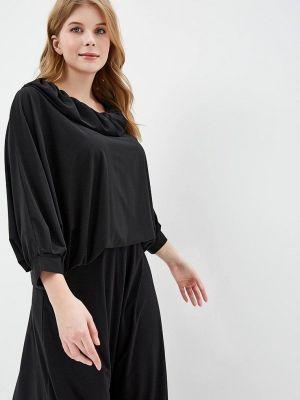 Блузка черная Артесса