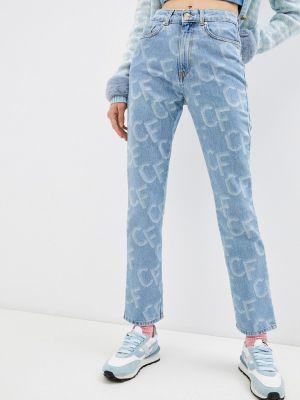 Прямые джинсы Chiara Ferragni Collection