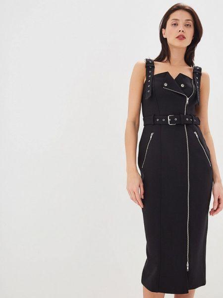 Черное платье форма