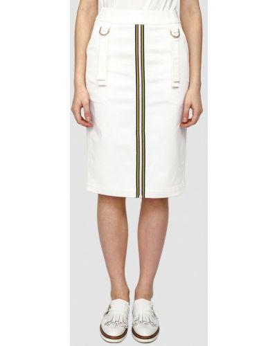 Белая юбка весенняя Dolcedonna