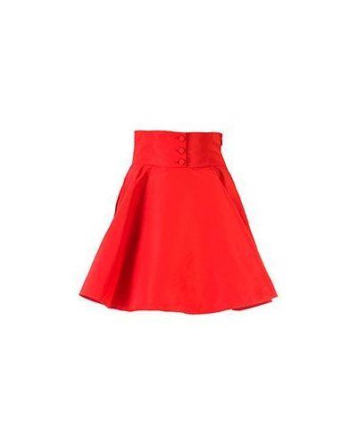 Розовая юбка винтажная Valentino Red