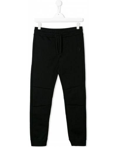 Черные брюки на резинке Ai Riders On The Storm Kids