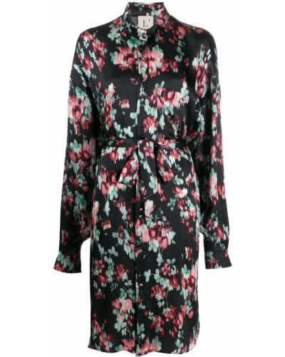 Платье макси через плечо с поясом Lautre Chose