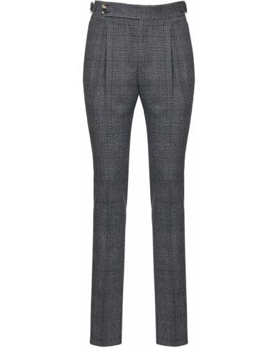 Spodnie wełniane klamry Pantaloni Torino