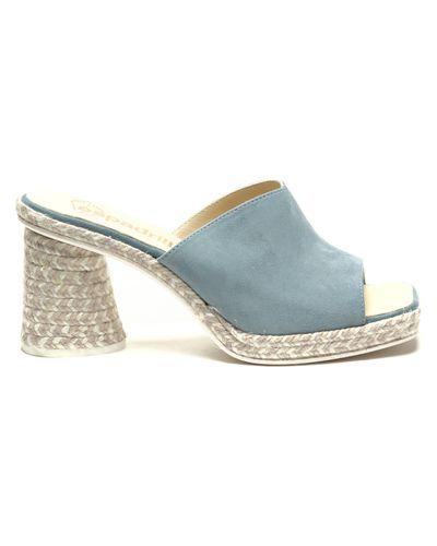 Niebieskie sandały Espadrilles