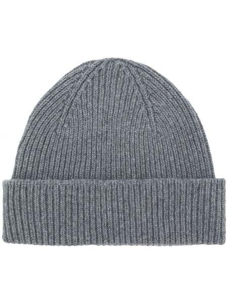Теплая кашемировая серая шляпа Paul Smith