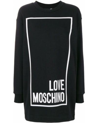 Платье платье-толстовка Love Moschino