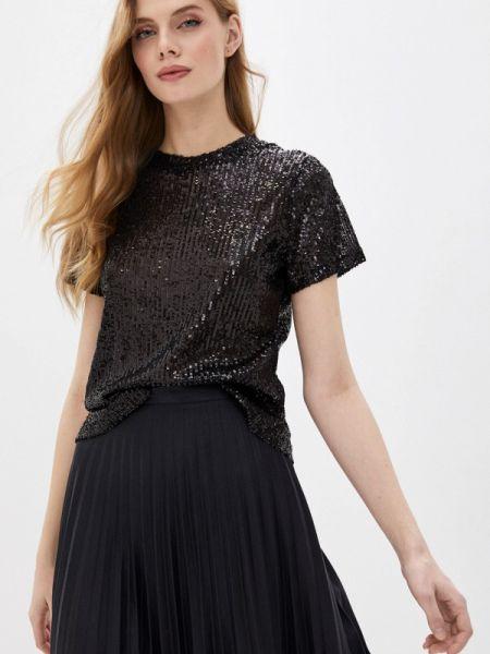 Блузка с коротким рукавом черная весенний Ovs