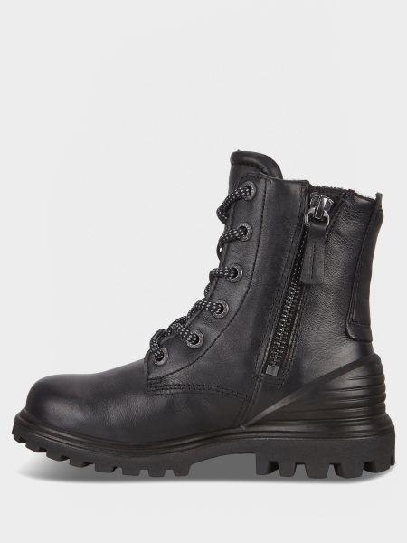 Ботильоны на шнуровке - черные Ecco