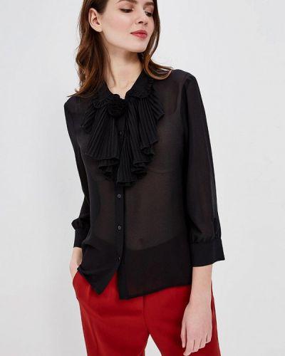Черная блузка с рюшами Silvian Heach