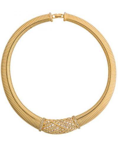 Ожерелье винтажное - желтое Christian Dior Pre-owned