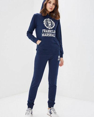 Синий спортивный костюм Franklin & Marshall