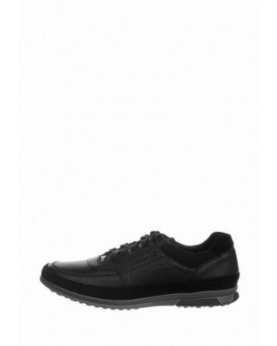 Кожаные кроссовки - черные Faber