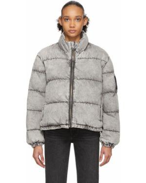 Джинсовая куртка длинная стеганая Alexander Wang