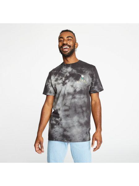 Czarny t-shirt z zamkiem błyskawicznym Ripndip